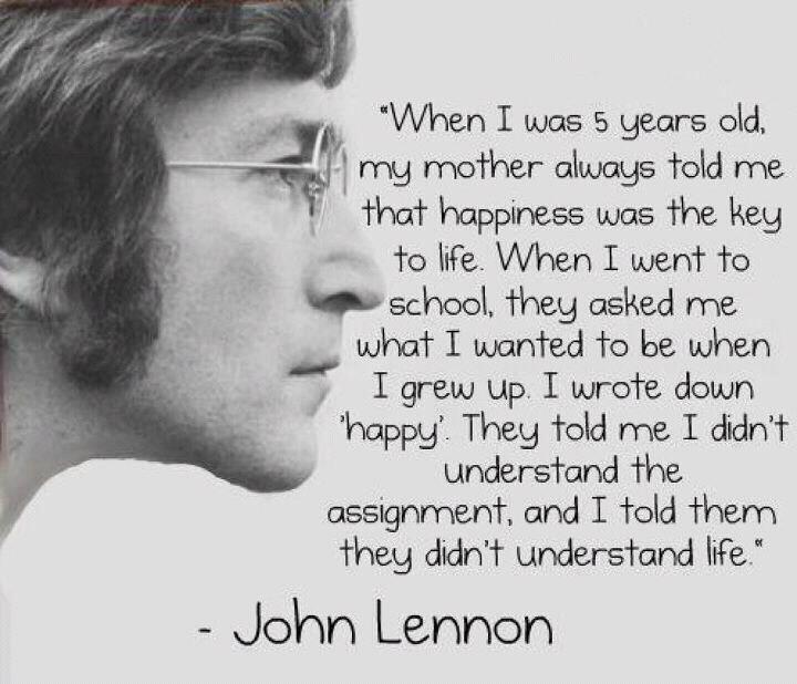 John Lennon Lyrics Quotes John Lennon Quotes About